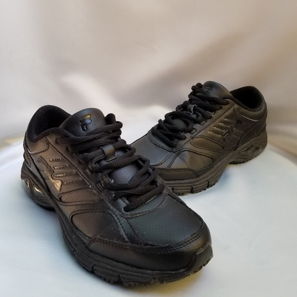 Women's Fila Slip Resistant Work Shoes